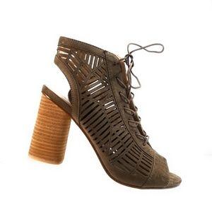 Sam Edelman Rocco Booties Suede Sandals Size 10 M